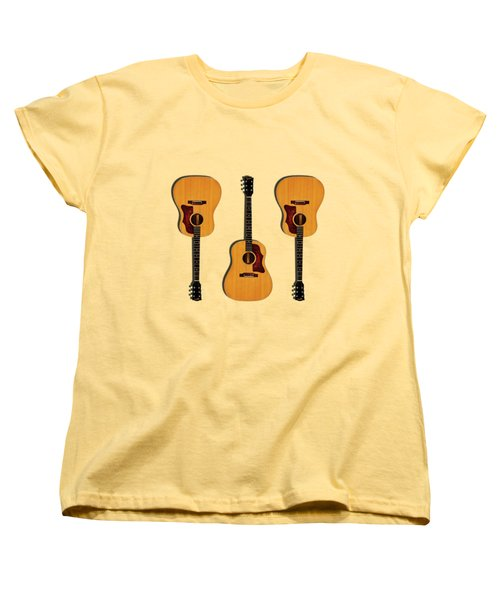 Gibson J-50 1967 Women's T-Shirt (Standard Cut) by Mark Rogan