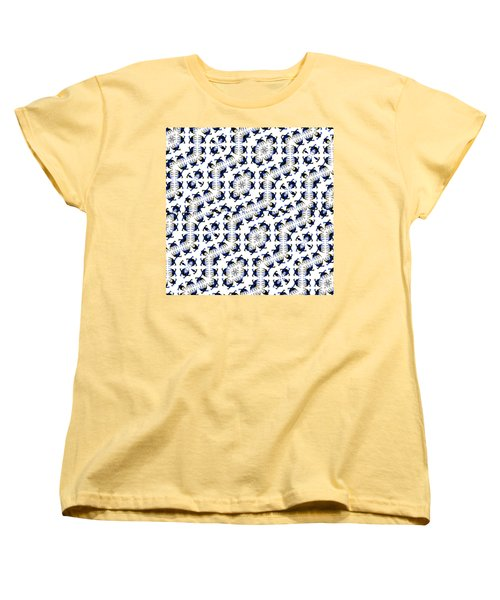 Giraffe Abstract 02 Women's T-Shirt (Standard Cut) by EricaMaxine  Price