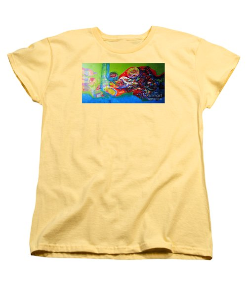 Glory Of Harmony Women's T-Shirt (Standard Cut) by Sanjay Punekar