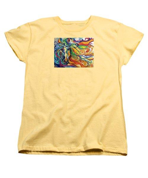 Glyde  Women's T-Shirt (Standard Cut) by Heather Roddy