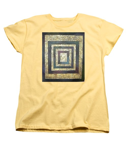 Golden Fortress Women's T-Shirt (Standard Cut) by Bernard Goodman