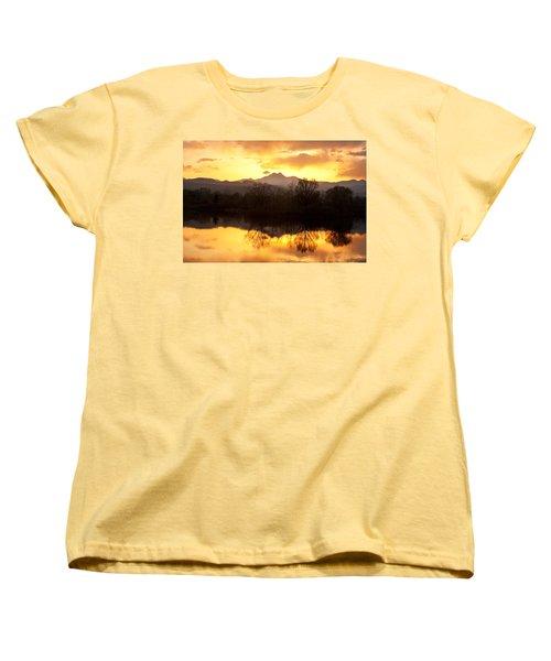 Golden Ponds Longmont Colorado Women's T-Shirt (Standard Cut) by James BO  Insogna
