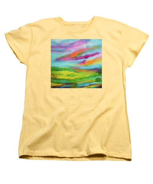 Escape From Reality Women's T-Shirt (Standard Cut) by Susan D Moody