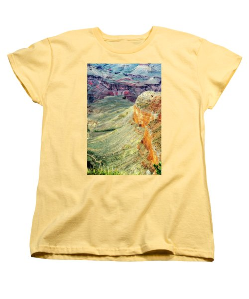 Grand Canyon Abstract Women's T-Shirt (Standard Cut) by Robert FERD Frank