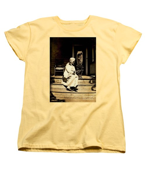 Women's T-Shirt (Standard Cut) featuring the photograph Grandma Jennie by Paul W Faust - Impressions of Light