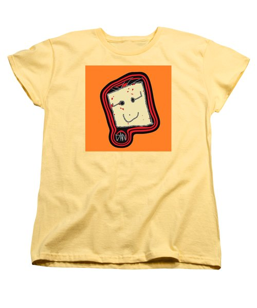 Women's T-Shirt (Standard Cut) featuring the mixed media Grandpa 3 by Andrew Drozdowicz
