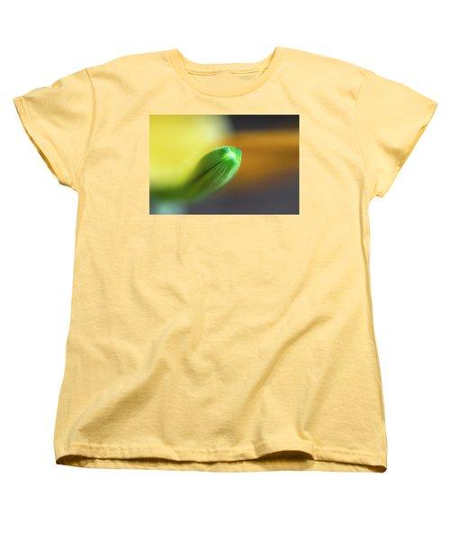 Green Tip Women's T-Shirt (Standard Cut) by Deborah Scannell