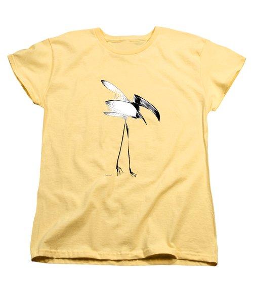 Haggard Women's T-Shirt (Standard Cut) by Asok Mukhopadhyay