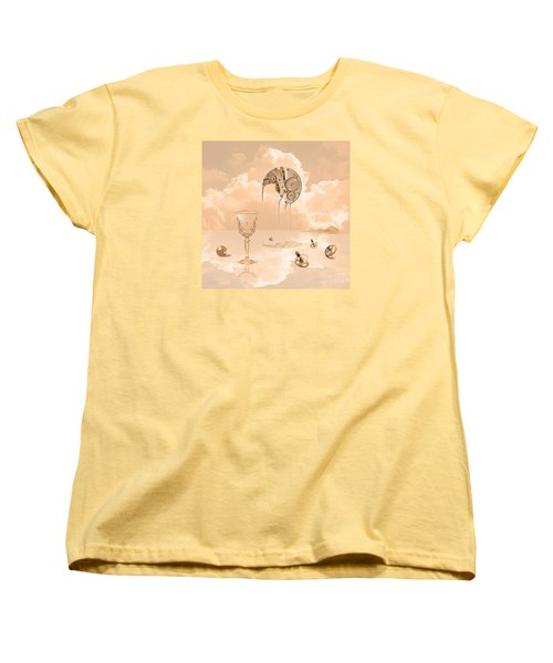 Beyond Time Women's T-Shirt (Standard Cut) by Alexa Szlavics