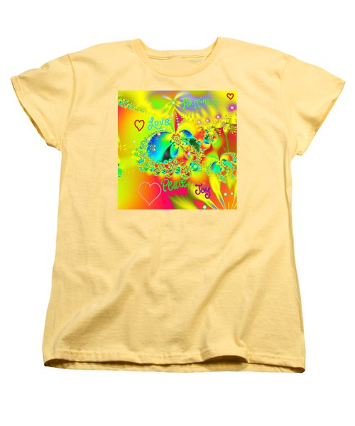 Happiness Women's T-Shirt (Standard Cut) by Kevin Caudill