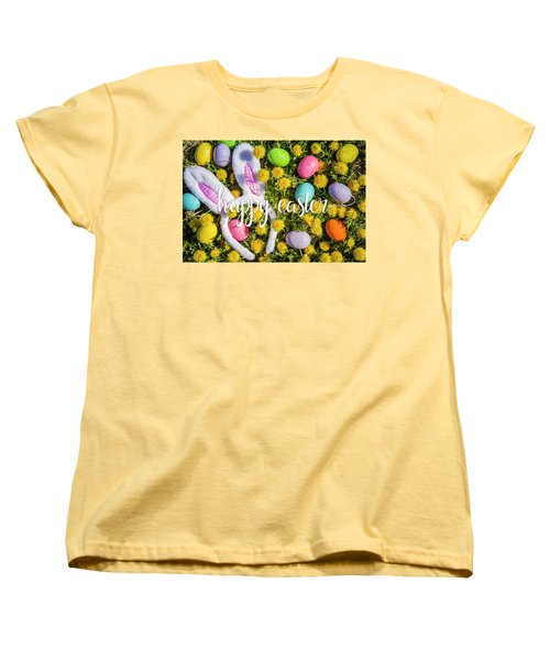 Women's T-Shirt (Standard Cut) featuring the photograph Happy Easter by Teri Virbickis