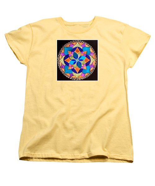Happy Mandala  Women's T-Shirt (Standard Cut)