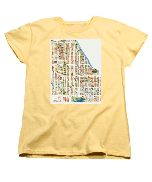 Harlem From 110-155th Streets Women's T-Shirt (Standard Cut) by Afinelyne
