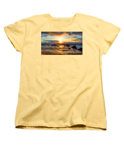 Hawaiian Paradise Women's T-Shirt (Standard Cut) by Michael Rucker