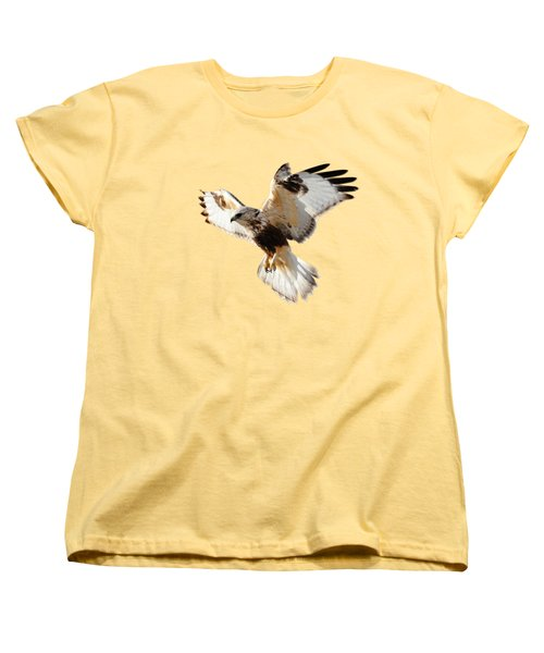 Hawk T-shirt Women's T-Shirt (Standard Cut) by Greg Norrell