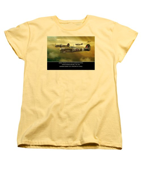 Hawker Typhoon Sqn 56 Women's T-Shirt (Standard Cut) by John Wills
