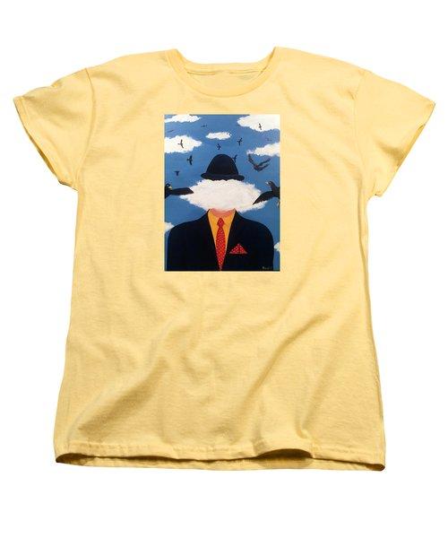 Head In The Cloud Women's T-Shirt (Standard Cut) by Thomas Blood