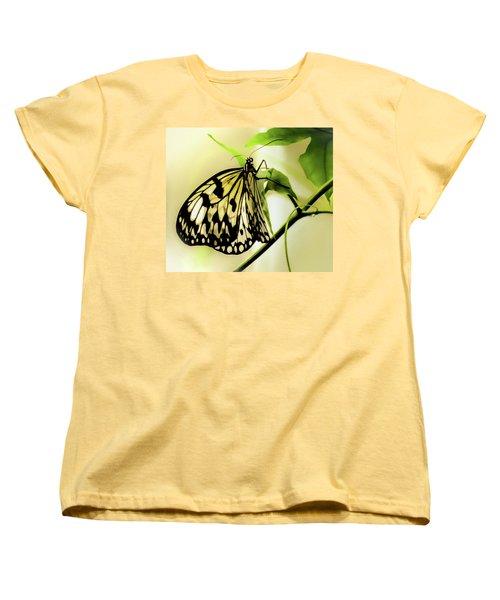 Women's T-Shirt (Standard Cut) featuring the photograph Heaven's Door Hath Opened by Karen Wiles