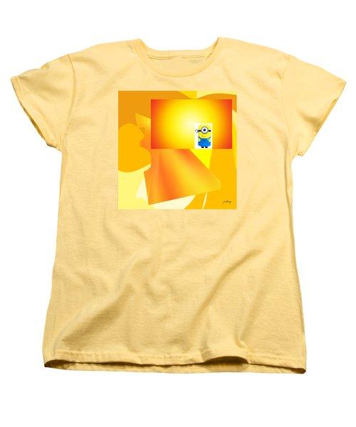 Hello Yellow Women's T-Shirt (Standard Cut) by Jacquie King