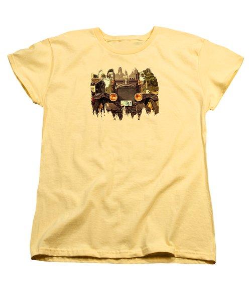 Hey A Model T Ford Truck Women's T-Shirt (Standard Cut) by Thom Zehrfeld
