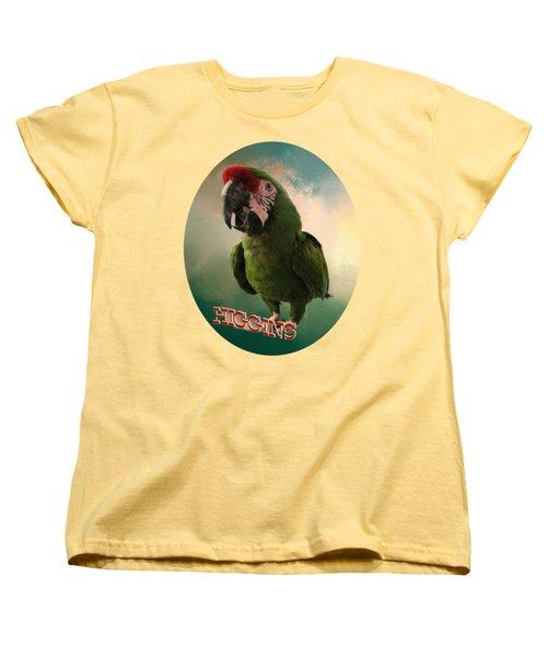 Higgins Women's T-Shirt (Standard Cut) by Zazu's House Parrot Sanctuary