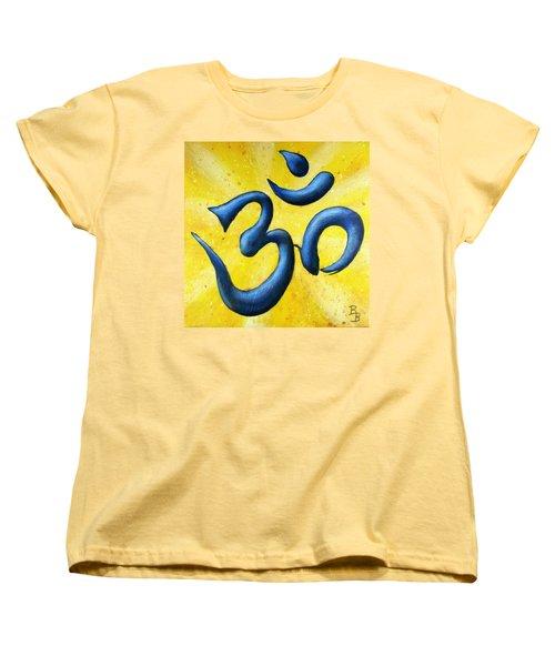 Hindu Om Symbol Art Women's T-Shirt (Standard Cut)