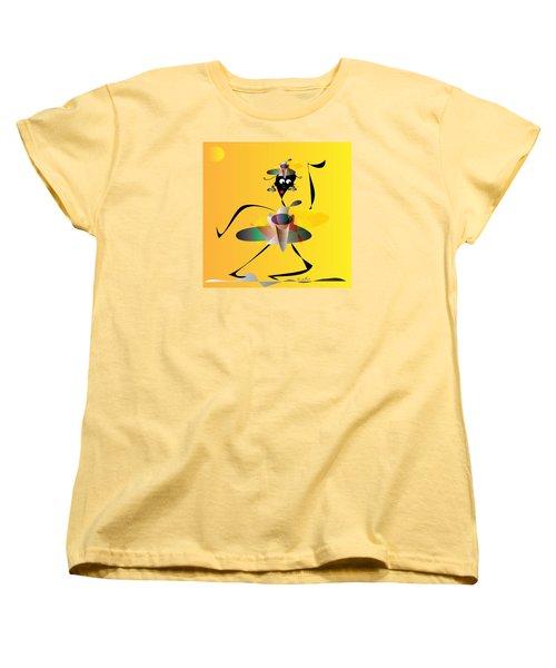 Hip Hop Women's T-Shirt (Standard Cut) by Iris Gelbart