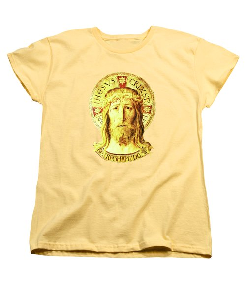 Holy Face Women's T-Shirt (Standard Cut) by Asok Mukhopadhyay
