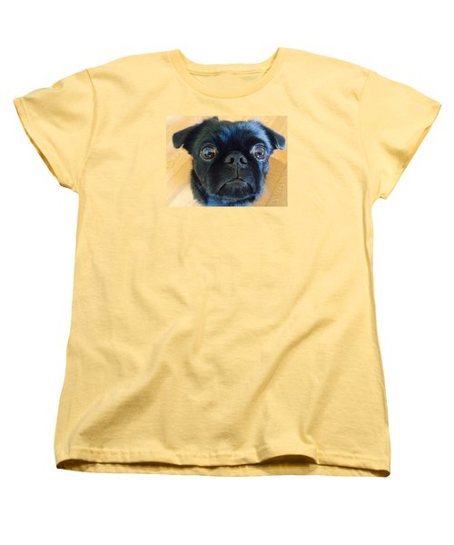 Women's T-Shirt (Standard Cut) featuring the photograph Honestly by Paula Brown