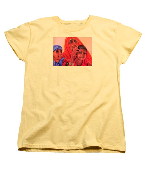 #hopeful In India Women's T-Shirt (Standard Cut)