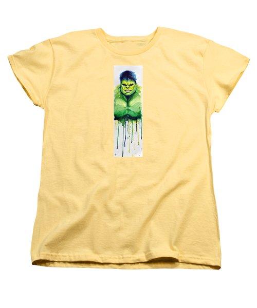 Hulk Women's T-Shirt (Standard Cut) by David Kraig