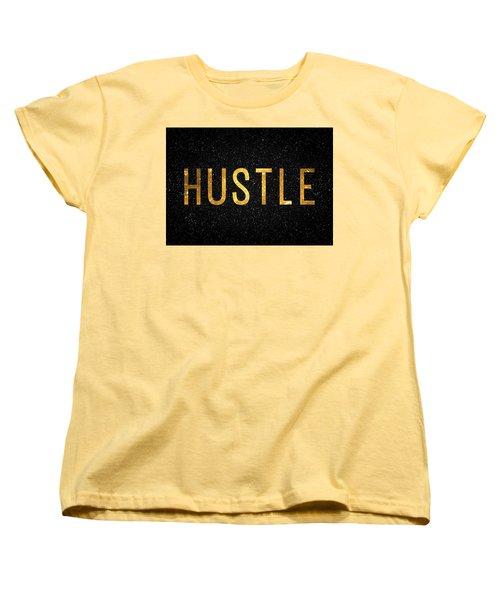 Hustle Women's T-Shirt (Standard Cut) by Taylan Apukovska