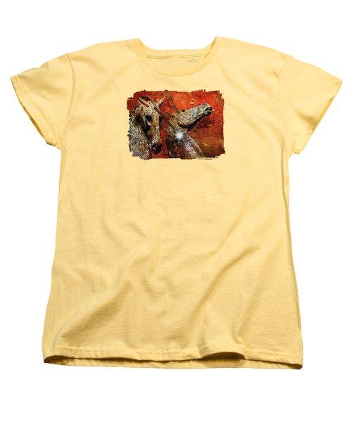 I Believe Women's T-Shirt (Standard Cut) by Terry Fleckney