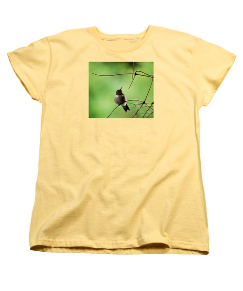 Women's T-Shirt (Standard Cut) featuring the photograph I Need A Drink by Randy Bodkins