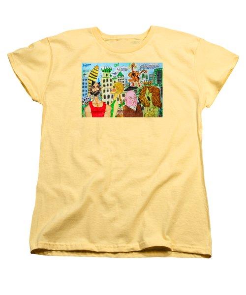I Wanna Dineroh / I Wanna Money Women's T-Shirt (Standard Cut) by Don Pedro De Gracia