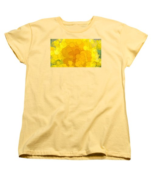 In Color Abstract 14 Women's T-Shirt (Standard Cut) by Cathy Anderson
