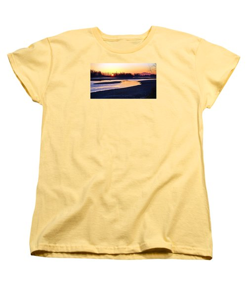The Fraser River Women's T-Shirt (Standard Cut) by Heather Vopni