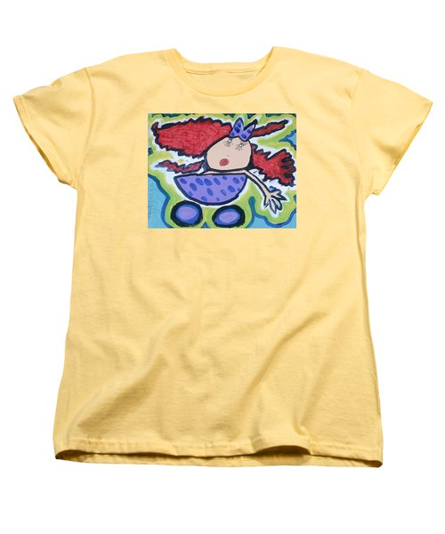 In The Baby Carriage Women's T-Shirt (Standard Cut) by Artists With Autism Inc
