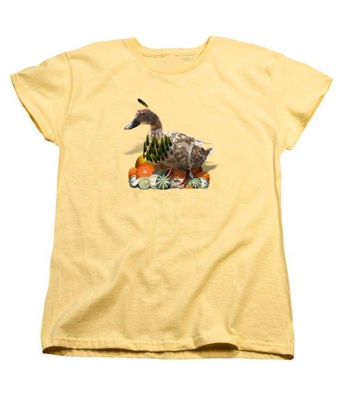 Indian Duck Women's T-Shirt (Standard Cut)