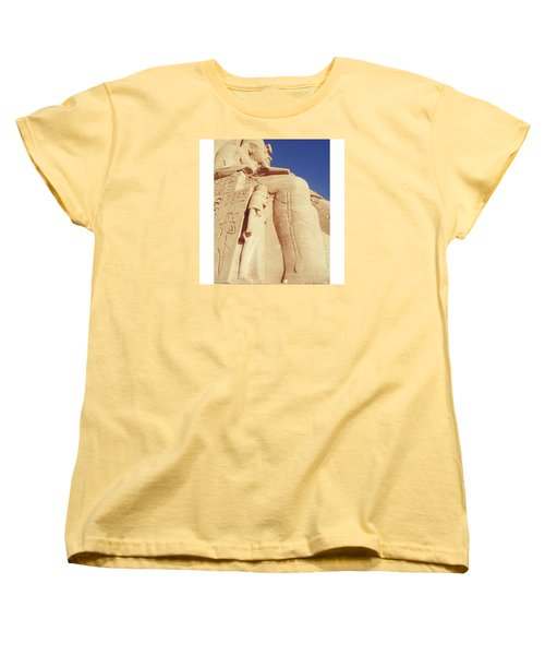 Egytian Monument Women's T-Shirt (Standard Cut) by Patsy Jawo