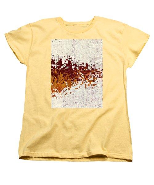 Insync Women's T-Shirt (Standard Cut) by The Art Of JudiLynn