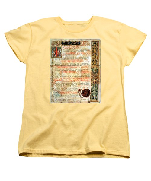 International Code Of Medical Ethics Women's T-Shirt (Standard Cut) by Science Source