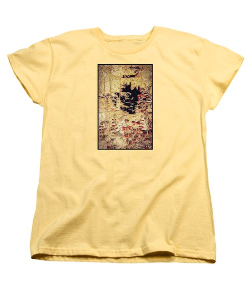 Women's T-Shirt (Standard Cut) featuring the photograph Into The Unknown by William Wyckoff