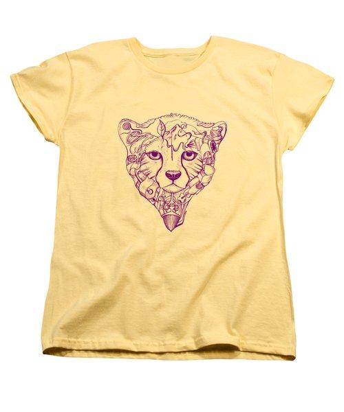 Iranian Cheetah Women's T-Shirt (Standard Cut) by Adam Campbell