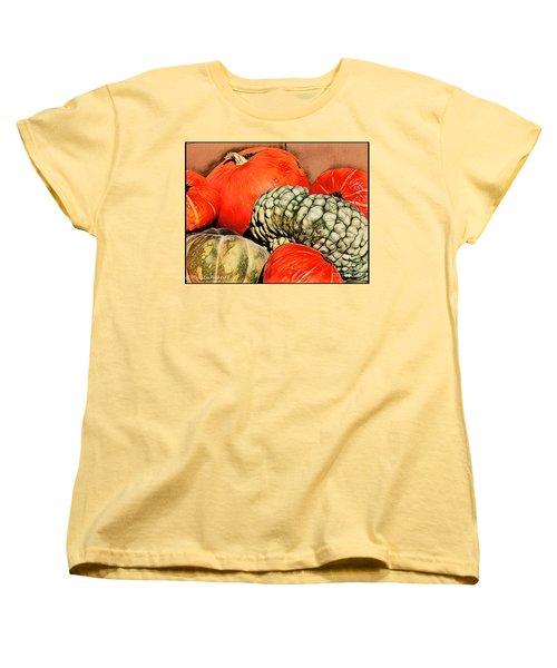 It's Pumpkin  Season Women's T-Shirt (Standard Cut) by MaryLee Parker