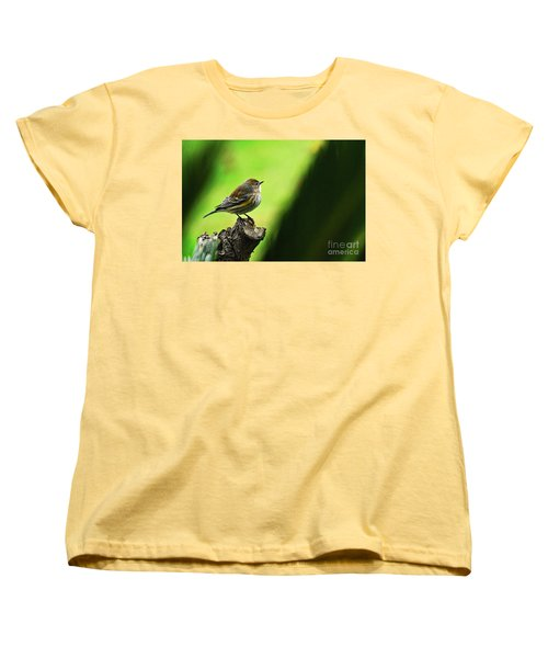 Women's T-Shirt (Standard Cut) featuring the photograph January Migration by Debby Pueschel