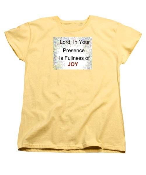 Joys Of Life Women's T-Shirt (Standard Cut) by Trilby Cole