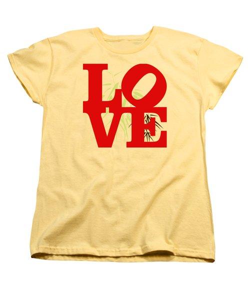 Jungle Love Tee Women's T-Shirt (Standard Cut) by Paulette B Wright