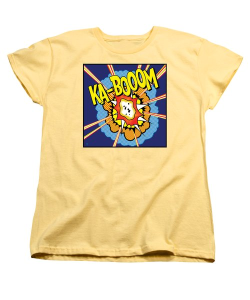 Kabooom Women's T-Shirt (Standard Cut)