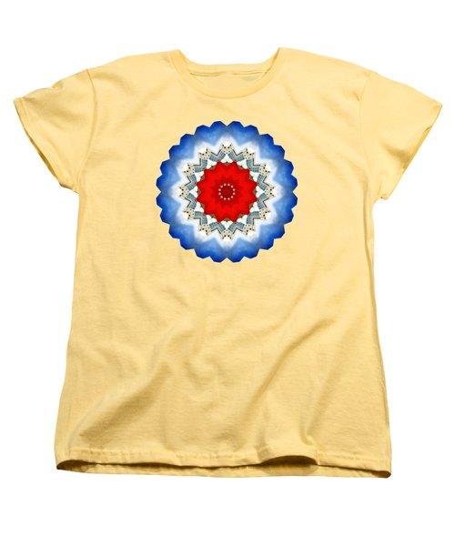 Women's T-Shirt (Standard Cut) featuring the photograph Kaleidos - Reykjavik02 by Jack Torcello